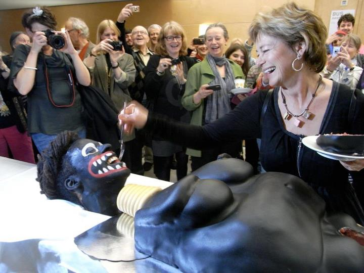 The Black Woman Cake