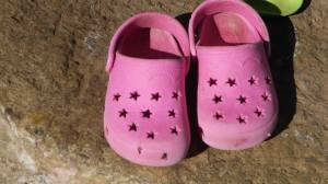 A girl Childs' Shoes. Pic Jedi ramalapa