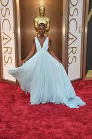 Lupita Nyong'o  at the 2014 Academy Awards.