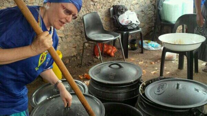 DA Leader and Western Cape Province Premier, Helen Zille. Election Campaign 2014.