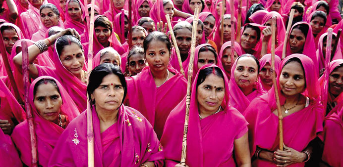 The Pink Brigade of India