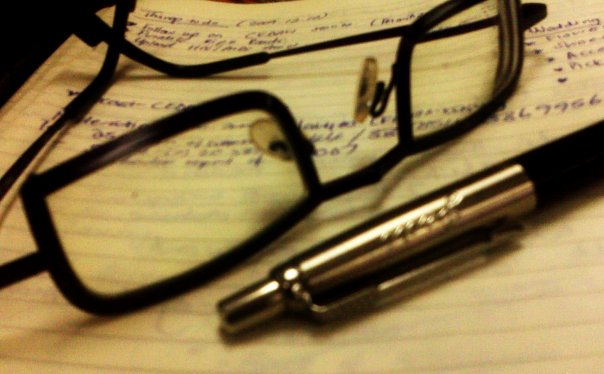Keeping notes