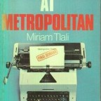 MIRIAM TLALI: OUT OF PRINT?